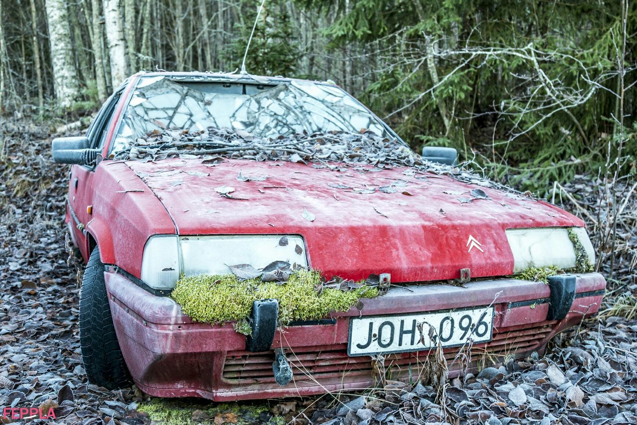 Citroen Old Car Folowforfollow Hudiksvall Aoutmn Nofilter Fotografhudiksvall Taking Photos Old But Awesome Folowme