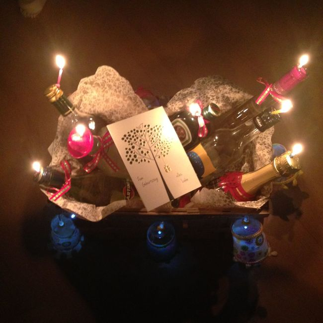 Birthday Gift Alcohol Alcohol Bottles Alles Gute Zum Geburstag Birthday Card Birthday Gift Birthday Party Burning Candle Drinks Happy Birthday Happy Birthday! Night