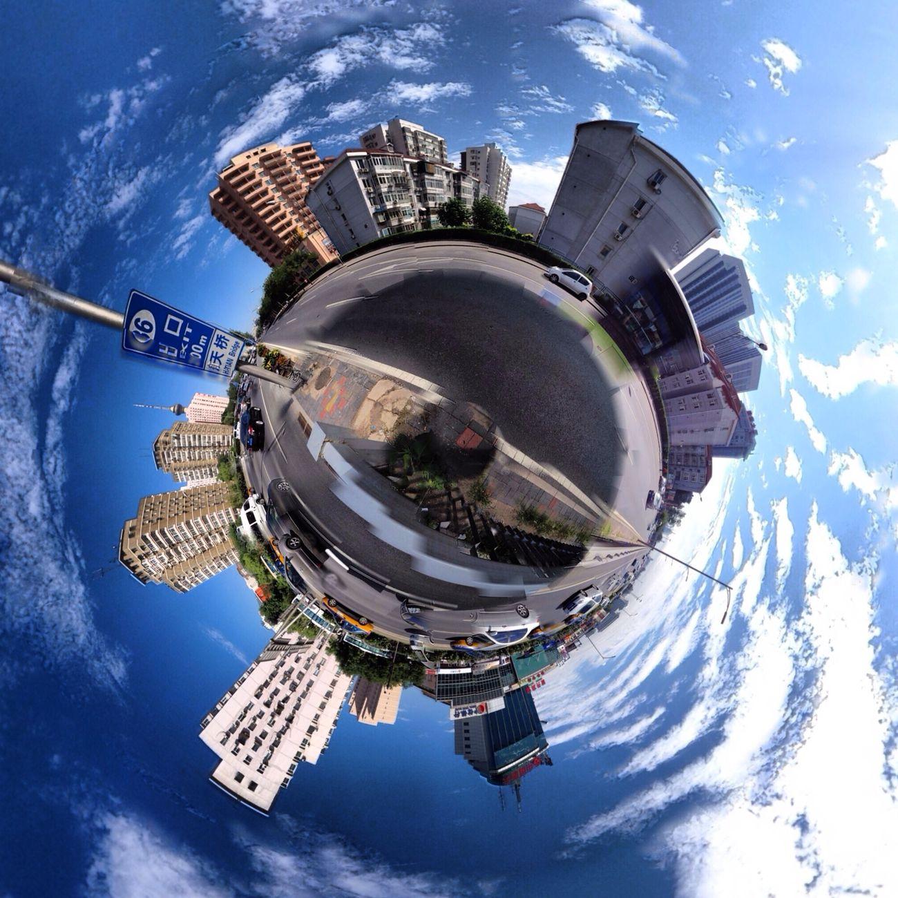 360全景球面投影照改变了观察空间的方式