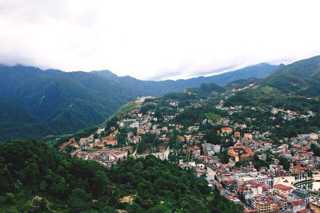 Fantastic View Mountain_collection Town Nature Fresh On Eyeem  Sapa, Vietnam