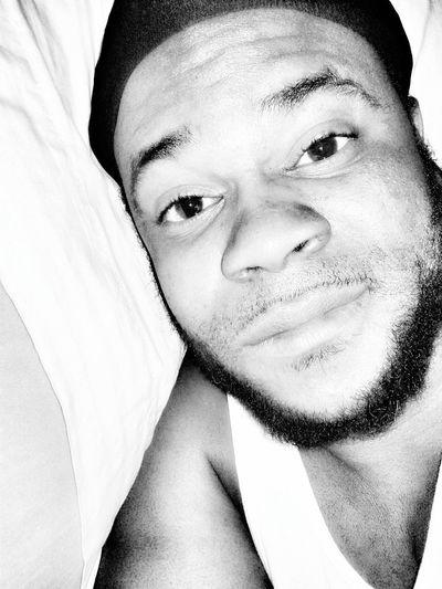 Blackandwhite Justwakingup Hello World Gudmornin everybody!