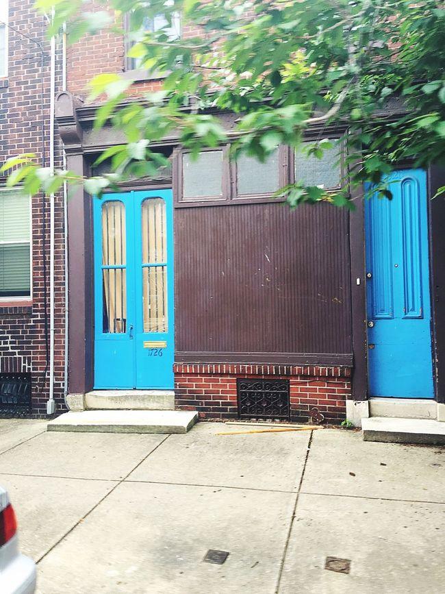 Doors Blue Doors