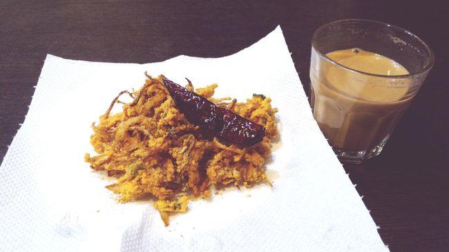 Eerulli Baji Ullagaddi Bajji Onion Snacks! OpenEdit Deceptively Simple Tea Time