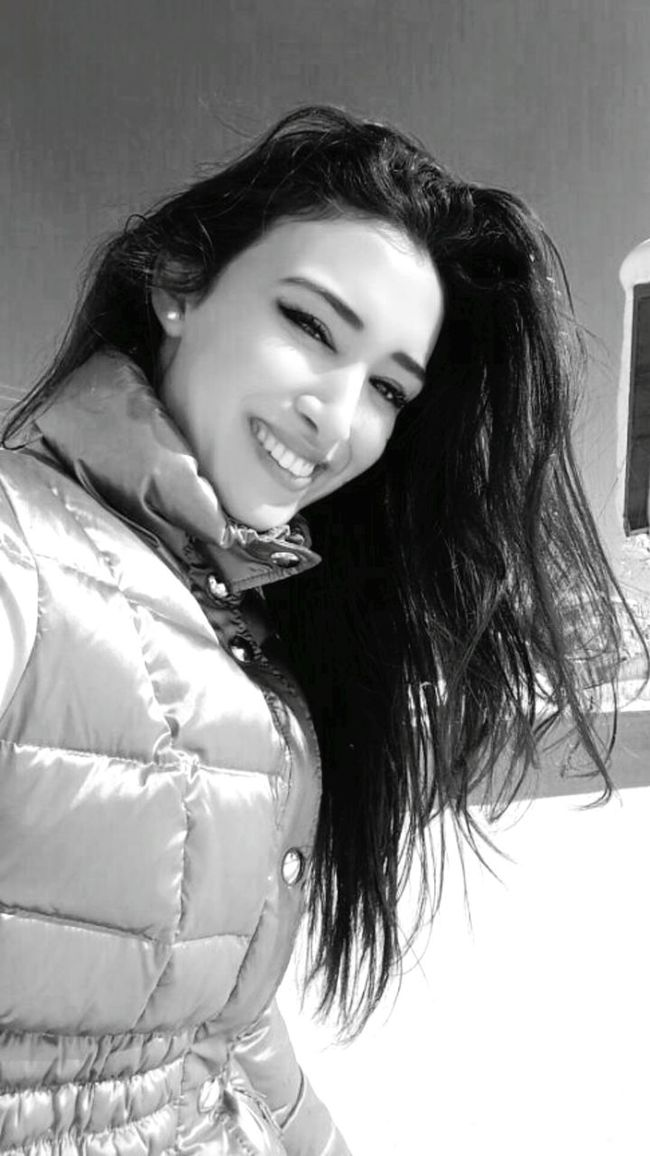 Blackandwhite Smile :) Relaxing Snow ❄