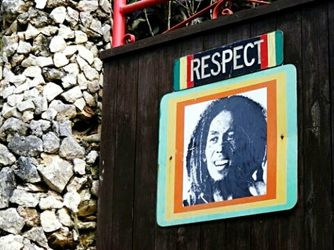 Gates Fences & Beyond Gates And Fences Check This Out Outdoor Pictures Outdoors Bob Marley Day Bob Marley ✌ Jamaican Vibes Rastafari RASTA Rasta Love Respect Respect Ocho Rios Jamaica OchosRios Ocho Rios Wooden Gate Wooden Gateway. Art Is Everywhere EyeEm Travel Traveling The World