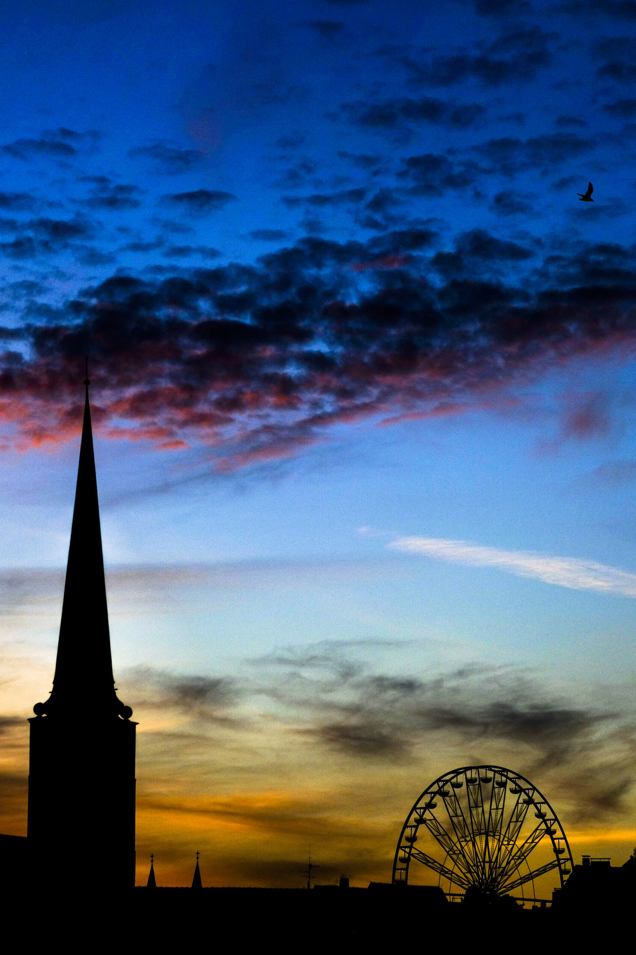 Did you know that Lübeck is under the top 5 christmas cities international. So come and visit... Architecture Built Structure Cathedral Church Cloud - Sky Embrace Urban Life Ferriswheel Fresh On Eyeem  FUJIFILM X-T2 Lübeck Old Europe Outdoors Riesenrad Silhouette Sky St. Jakobi Kirche Zu Lübeck Sunset World Heritage Change Encounters