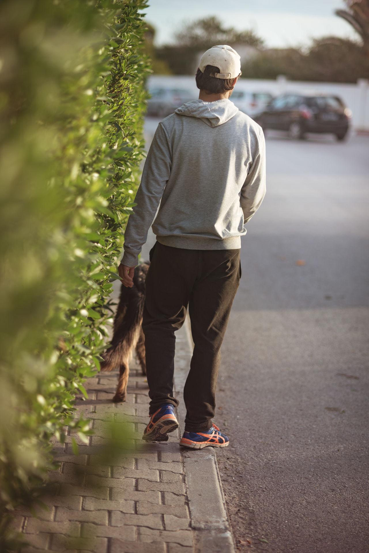 take out my dog Dog Guy Hood Jacket Sport Sportwear Street Streetphotography Walking