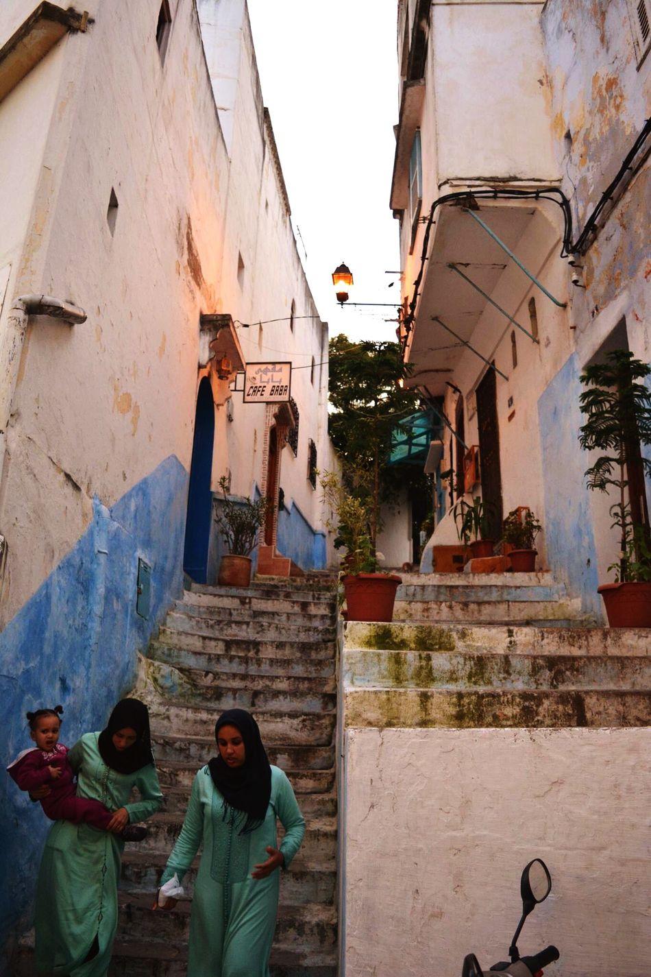Stairway down Tangier