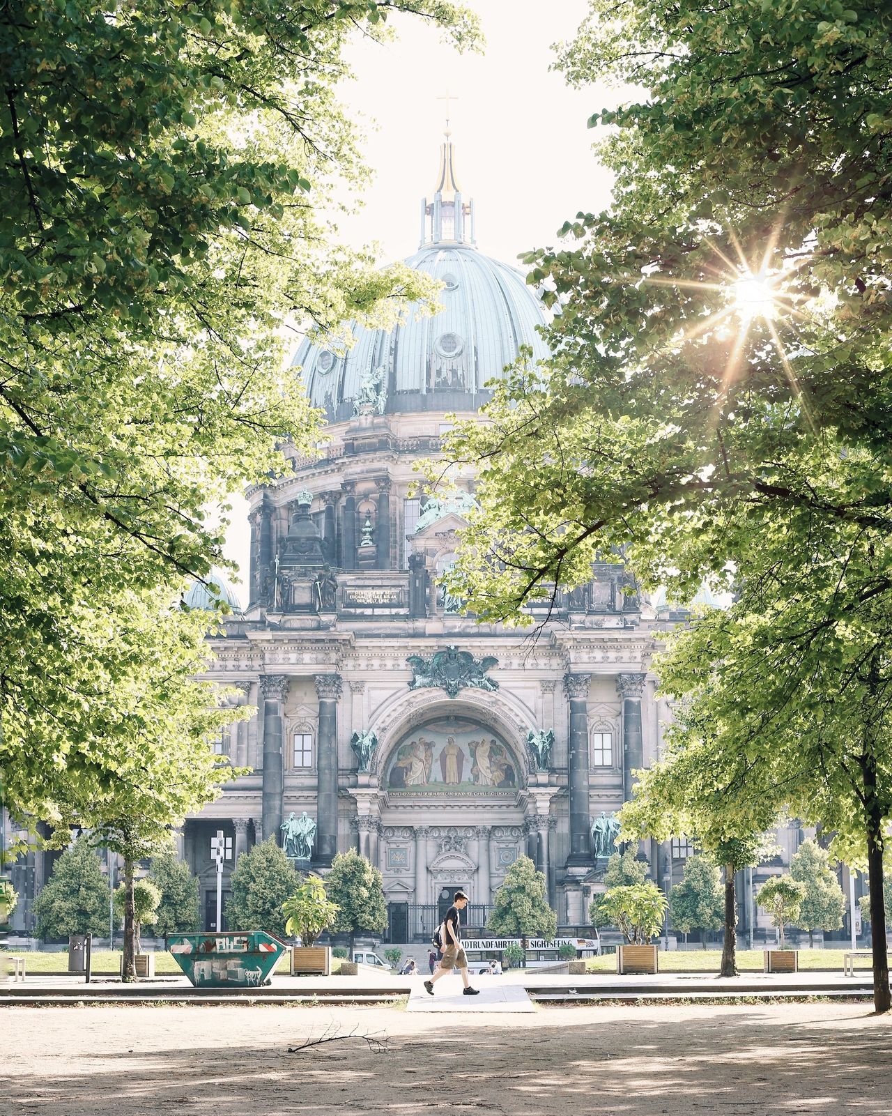 Architecture Travel Destinations Tree Religion Outdoors Building Exterior Sunlight City Day Built Structure No People Sky Politics And Government Eye4photography  Nature Berlin Photography Dome Tranquility