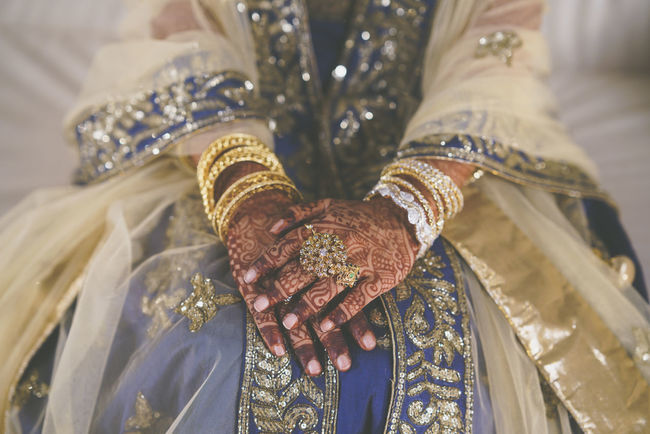 A traditional indian bride waiting on her wedding day. Anticipation Bridge Close-up Culture Culture And Tradition Cultures Desi Focus On Foreground Henna Jewellery Lifestyles Selective Focus Traditional Wedding We Wedding Photography