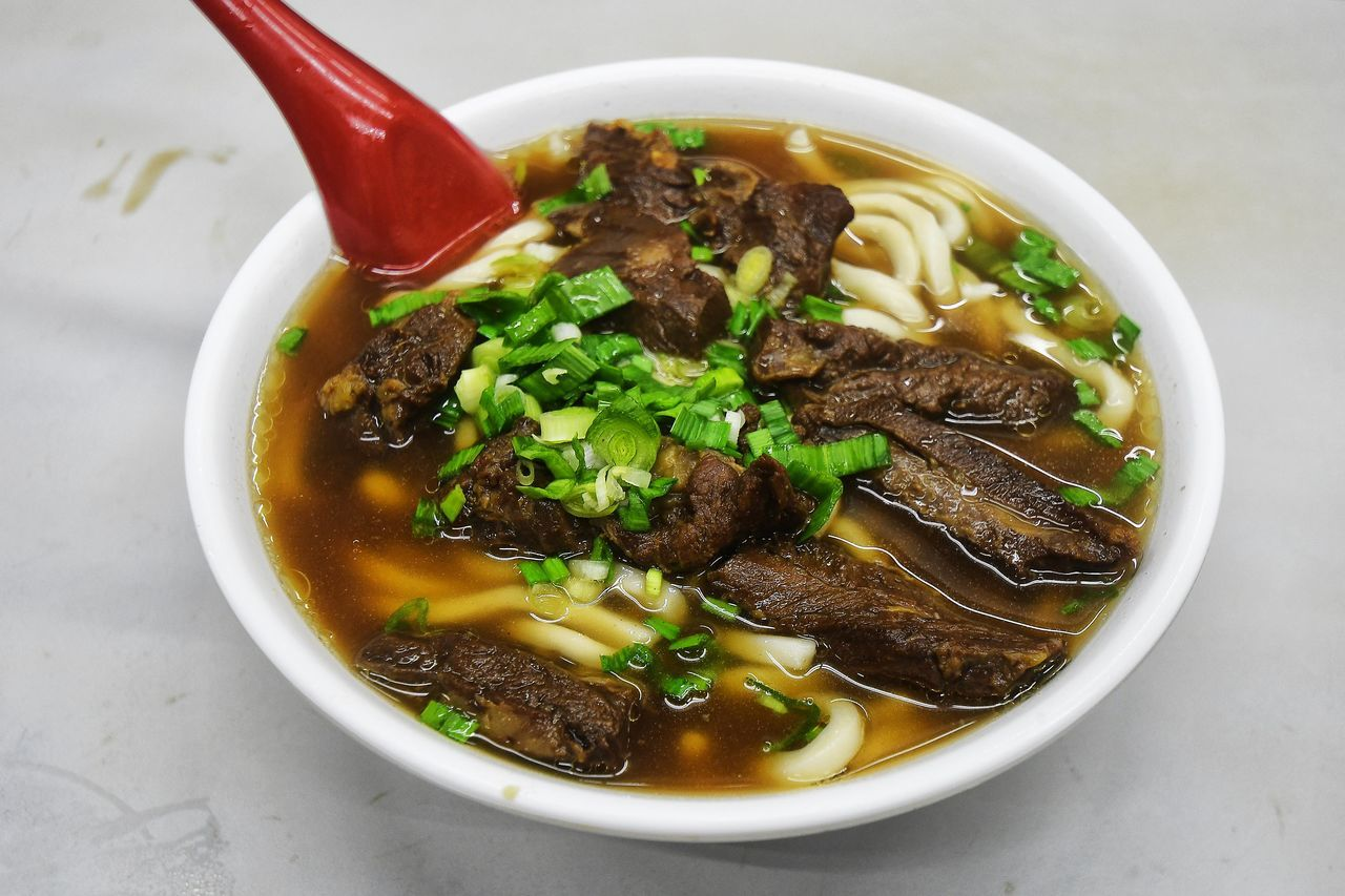Beef Bowl Braised Braised Beef Brisket Braised Beef Noodle Soup Close-up Day Food Food And Drink Freshness Healthy Eating Indoors  No People Noodle Ready-to-eat Soup