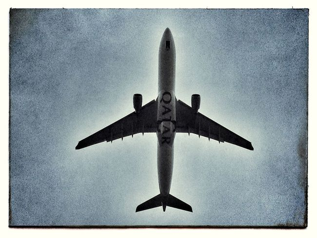 Air Vehicle Aircraft Airplane Airport Airways Auto Post Production Filter Cloud Cloud - Sky Filter Filtered Image Flight Flying Journey Manchester Mode Of Transport No People Outdoors Sky Transportation Travel