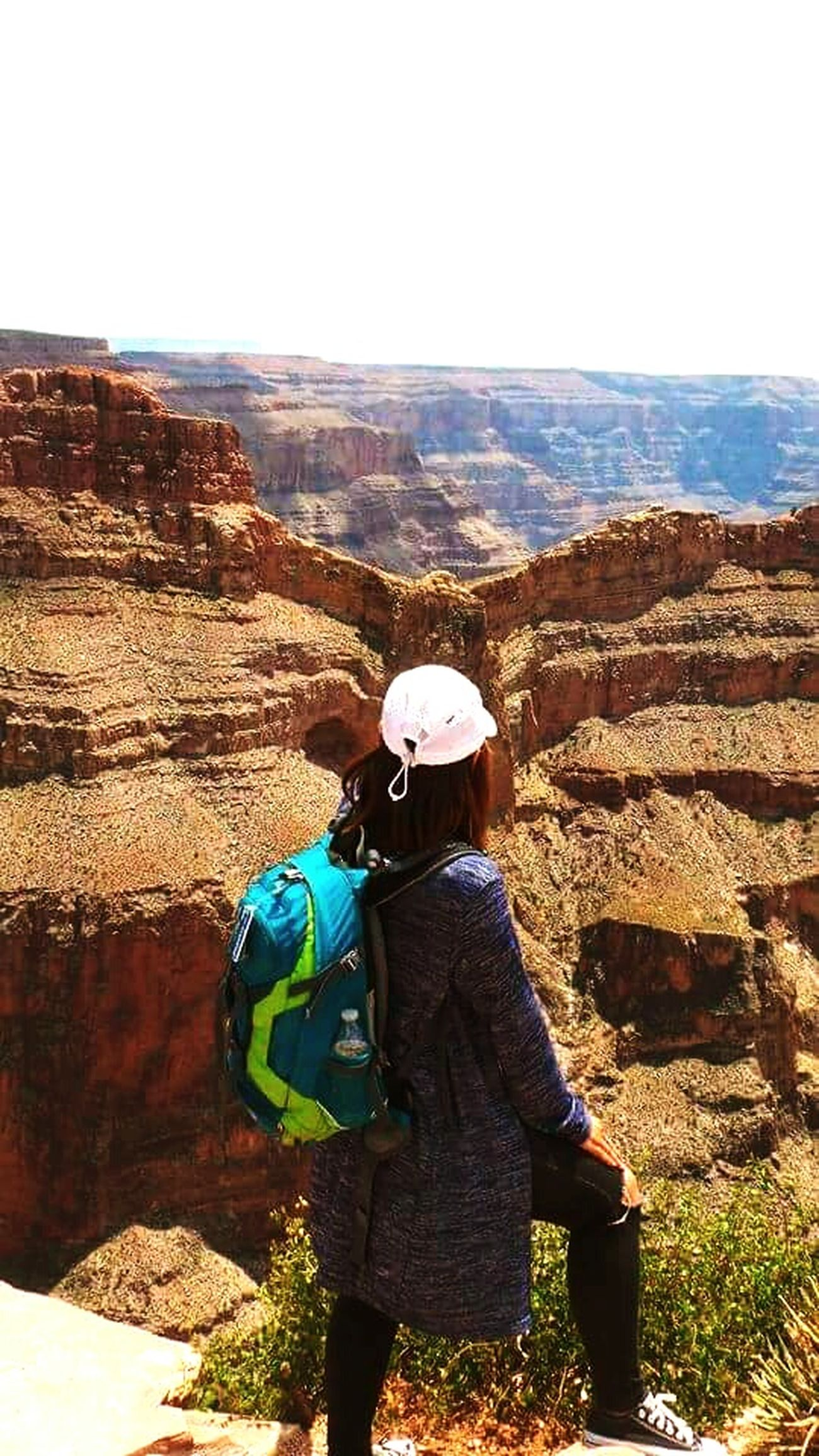 When this girl's dream came true 😭 Nature Beauty In Nature Leisure Activity Outdoors Dreamscapes & Memories Dreamer's Vision Grand Canyon Arizona Landscape