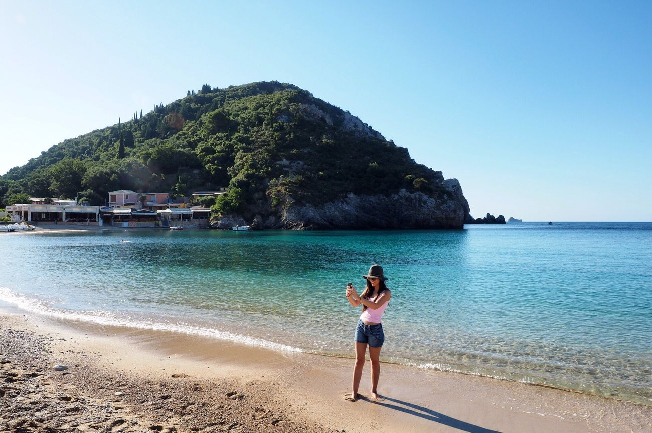 Paleokastritsa Paleokastritsa Beach. Corfu CORFU ISLAND All Mine Holiday Ελλάδα I'll Be Back Beauty Travels