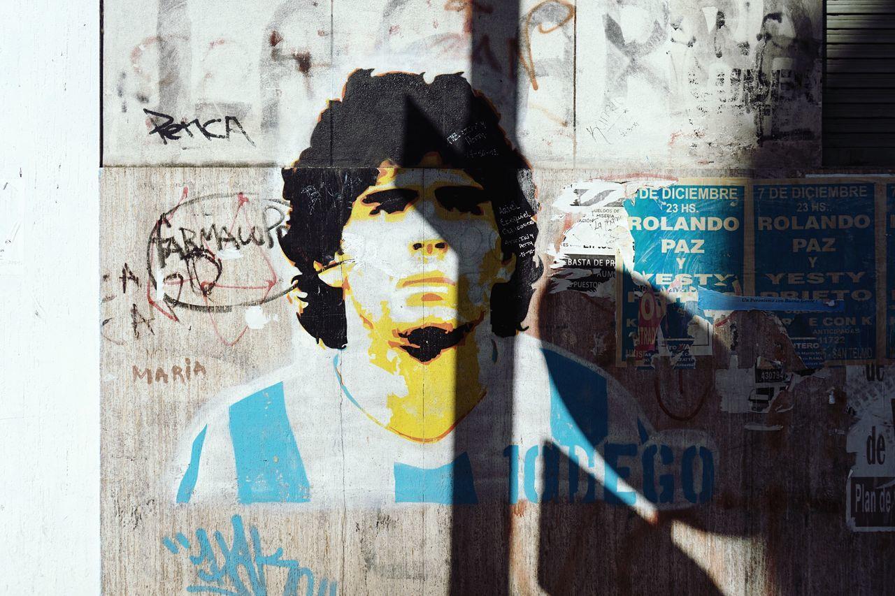 El mas grande del mundo Streetphotography Street Art Maradona Open Edit