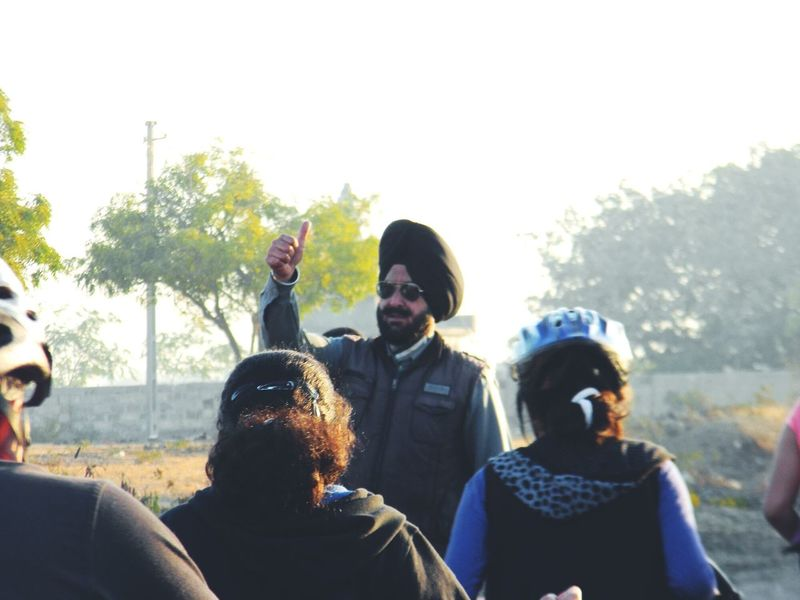 Feel The Journey All The Best Best Of Luck Good Wishes Gesture Cycling Trek Turbanstyle Wishes Security