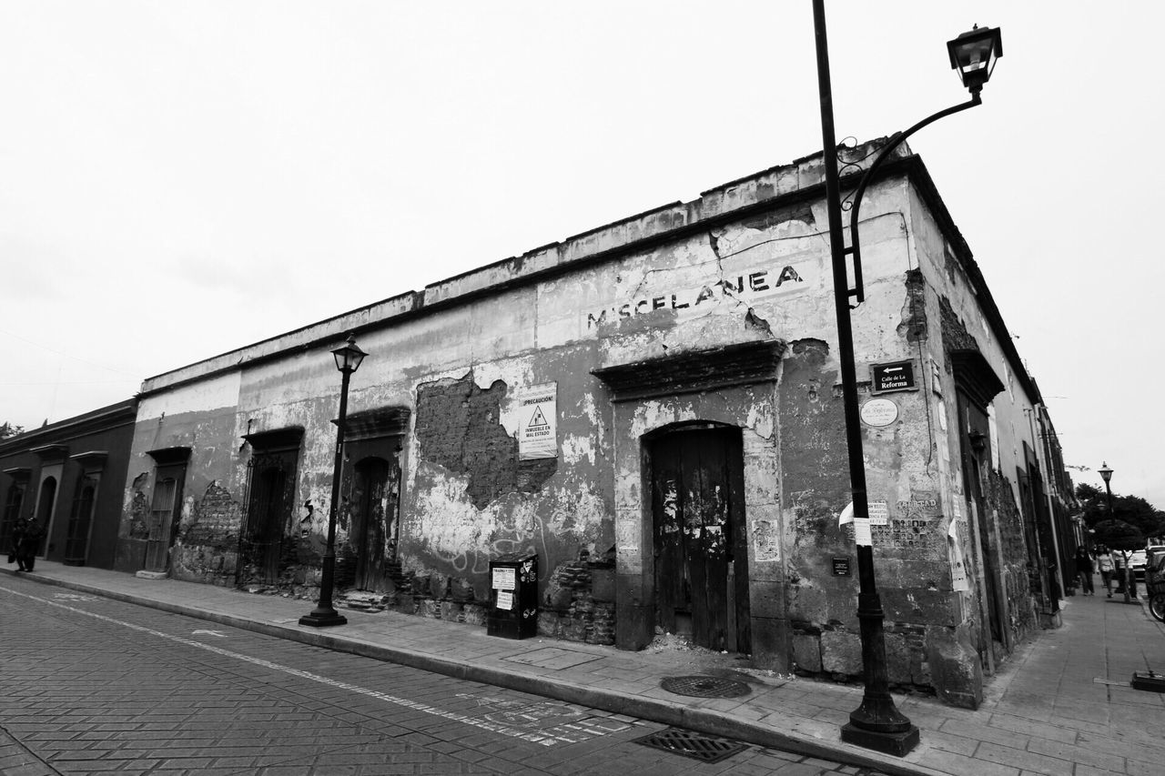 No People History Outdoors Military Architecture Day Sky Oaxaca Mexico Blackandwhite Building Exterior Cultures Blackandwhite Photography
