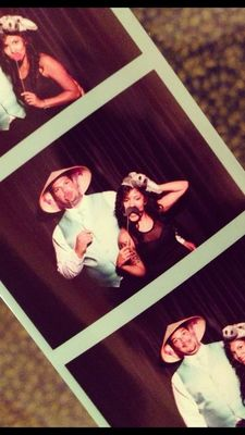photobooth at Orange Park Country Club by Miss Mo