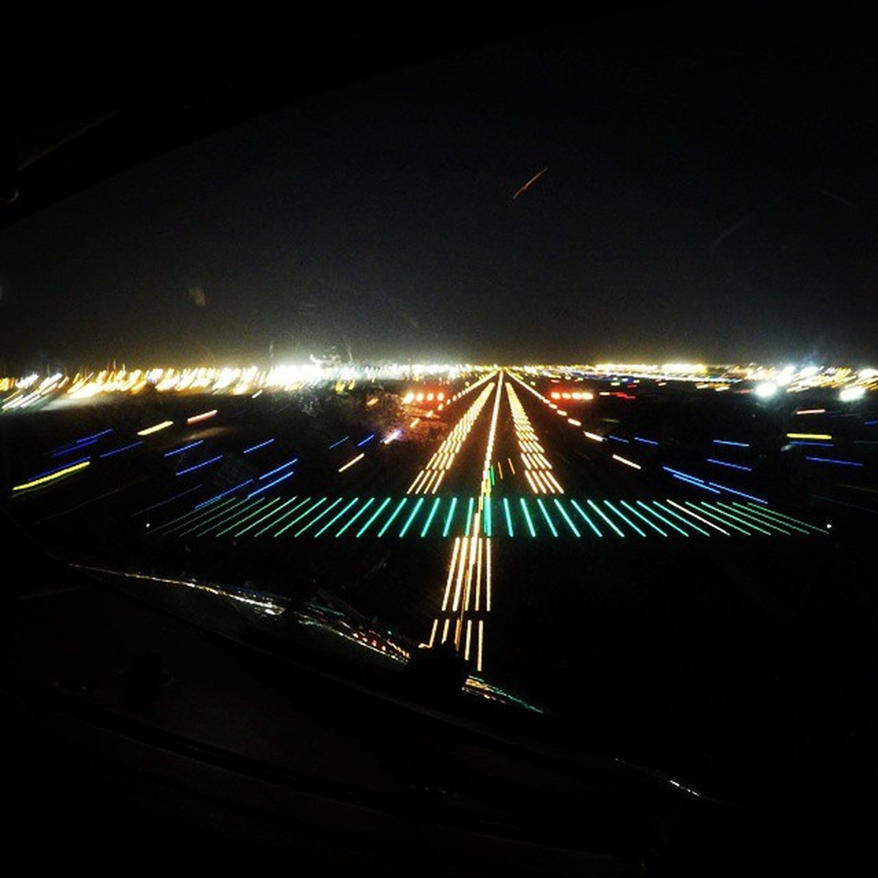 Landing on Runway 30L in Dubai Approachlights Runwaylights Airport Airplane Airplane_lovers Cockpitview Flightdeckview Piloteyes737 Crewlife Piloteyes Cockpit DXB Airlinepilot Avgeek Aviationfreaks Aviationclub Aviationphotography Instapilot Instaaviation Photooftheday Taxytrack