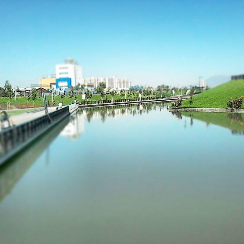 Nuevo parque metropolitano en santiago, recorriendo Santiagoapie