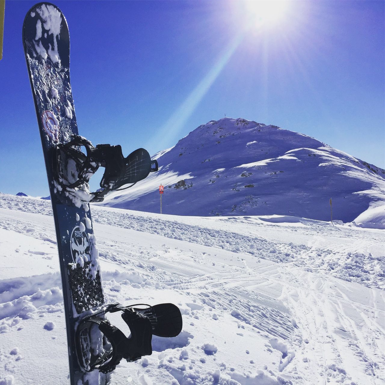 Mountain Top Snow Dream Snowboard Moments Snowboard Snow Mayrhofen Wintersport Perfect Weather Clear Sky