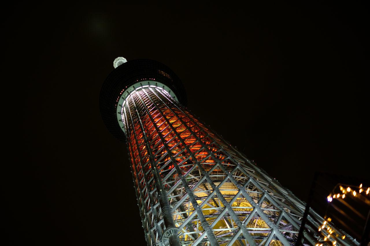 スカイツリー Architecture City Cityscape Fujifilm FUJIFILM X-T2 Fujifilm_xseries Illuminated Japan Japan Photography Night Nightphotography Sky Skytree Tokyo Tokyo Skytree Travel Destinations X-t2 とうk スカイツリー 東京スカイツリー