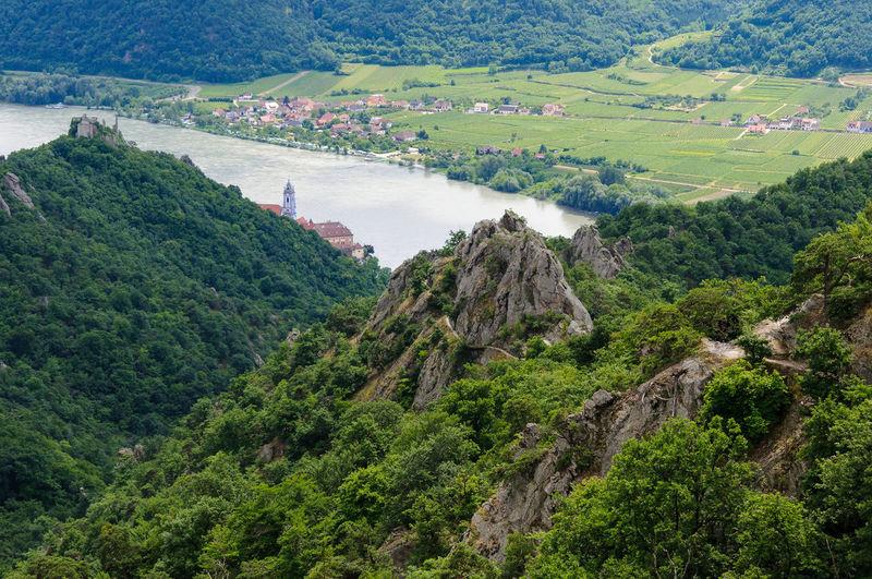 Austria Donau Niederösterreich Wachau Wanderlust Wandern 🌄 Beauty In Nature Day Donautal Dürnstein Green Color Landscape Mountain Nature No People Outdoors Scenics