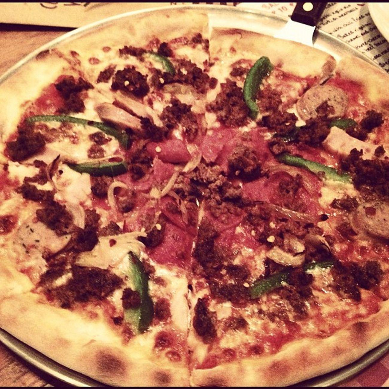 Meat Me In Heaven Pizza