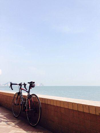 Cycling day Cycling Sea Workout