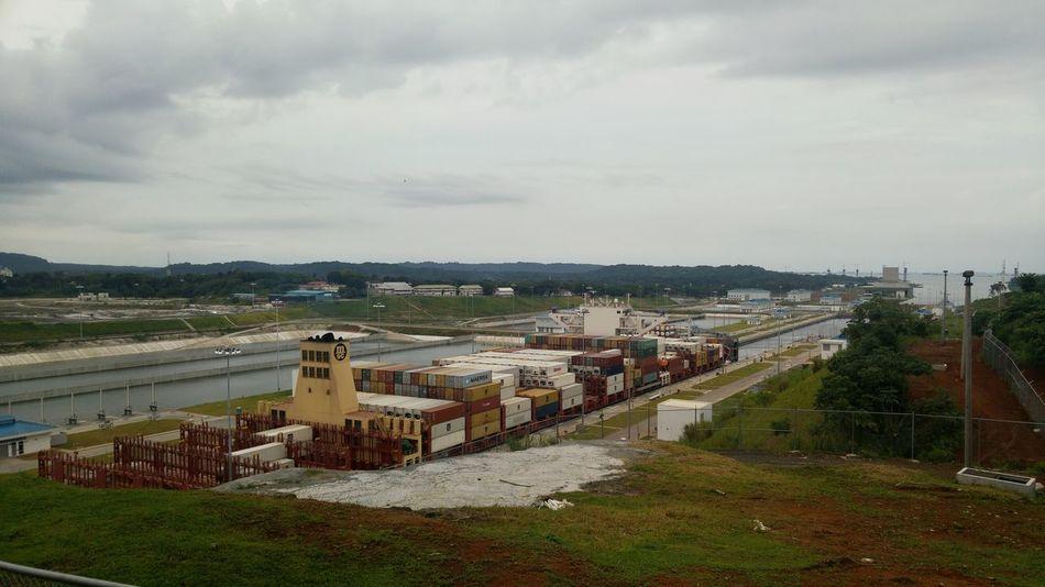 Esclusas Agua Clara Panama Canal Panamá Canal Ampliado Canal Canal De Panama