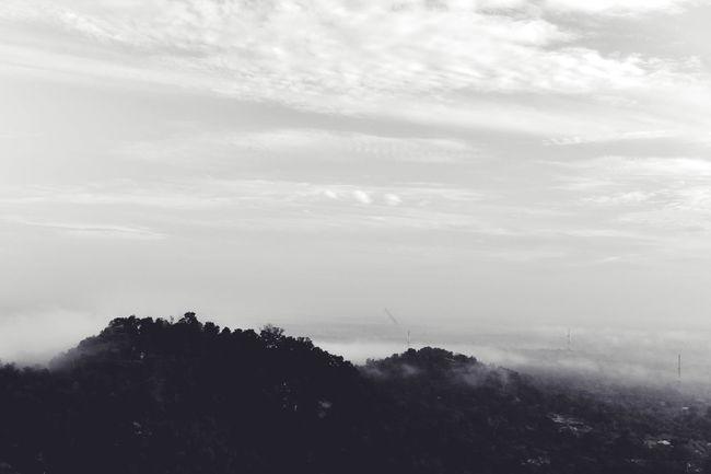 007 : Morning Mist Morning Sky Mist Hills Landscape Landscape_photography Morning Black & White Blackandwhite Black And White