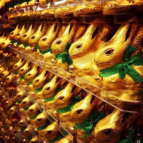 Ready, steady, go - Happy Easter everyone! Easter Bunny  Supermarket Serialism Repetition Easter Ready Season