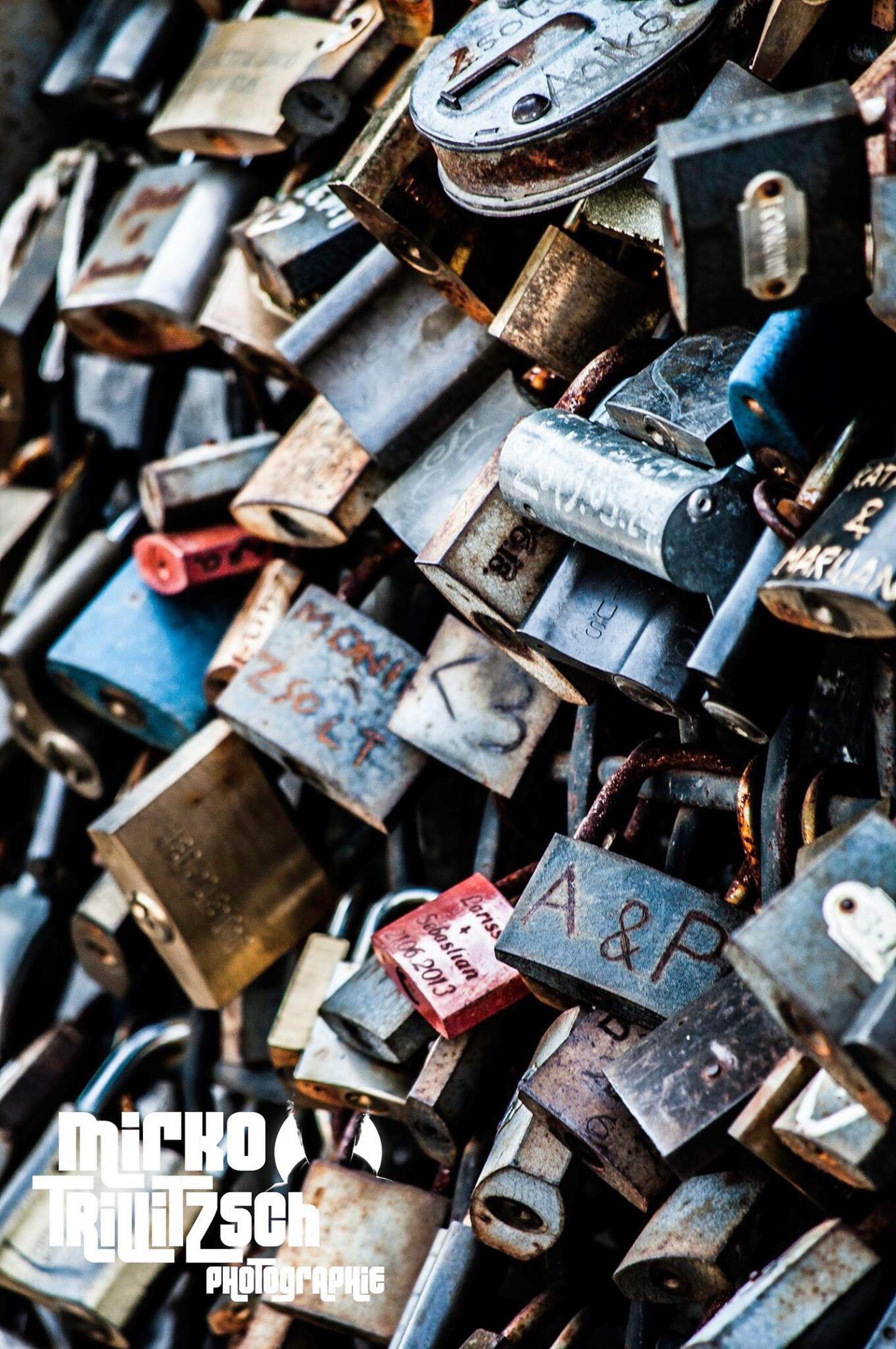 abundance, metal, large group of objects, full frame, close-up, lock, backgrounds, no people, heap, outdoors, day