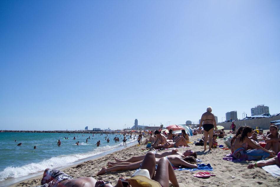 Beautiful stock photos of summer, Beach, Building Exterior, Clear Sky, Copy Space