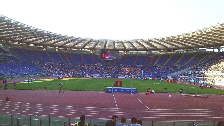 Goldengala Olympic Stadium Olympicstadium Goldengala2015 Olimpico Roma Rome Trackandfield First Eyeem Photo