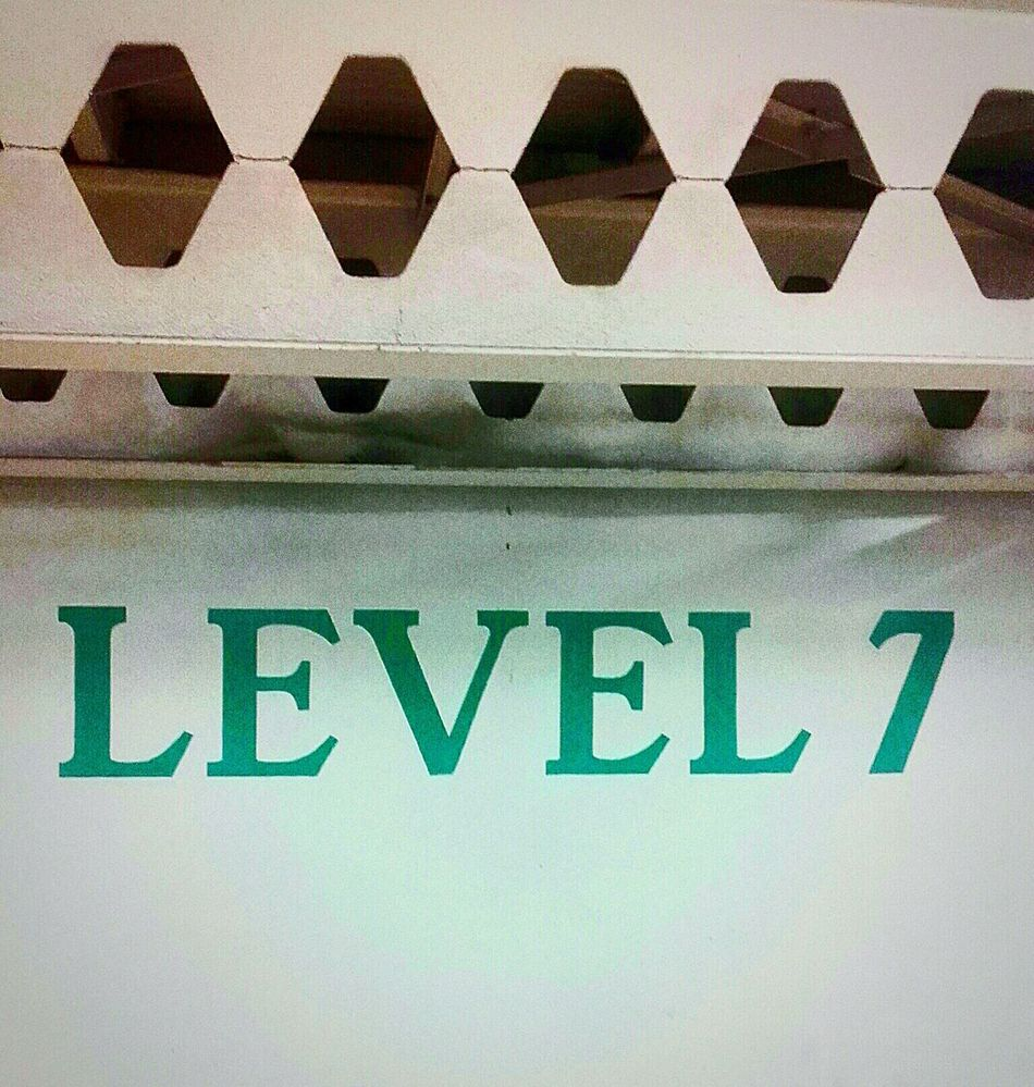 Level Seven Level 7 The 7th Level Seventh Level SIGNS. Signs & More Signs Signage Signporn Signs, Signs, & More Signs Sign SIGN. Signs Signs_collection SignsSignsAndMoreSigns Sign, Sign, Everywhere A Sign Signstalkers SignSignEverywhereASign Signssignseverywhere Signs Signs Everywhere Signs Car Park Signs Green And White Green & White