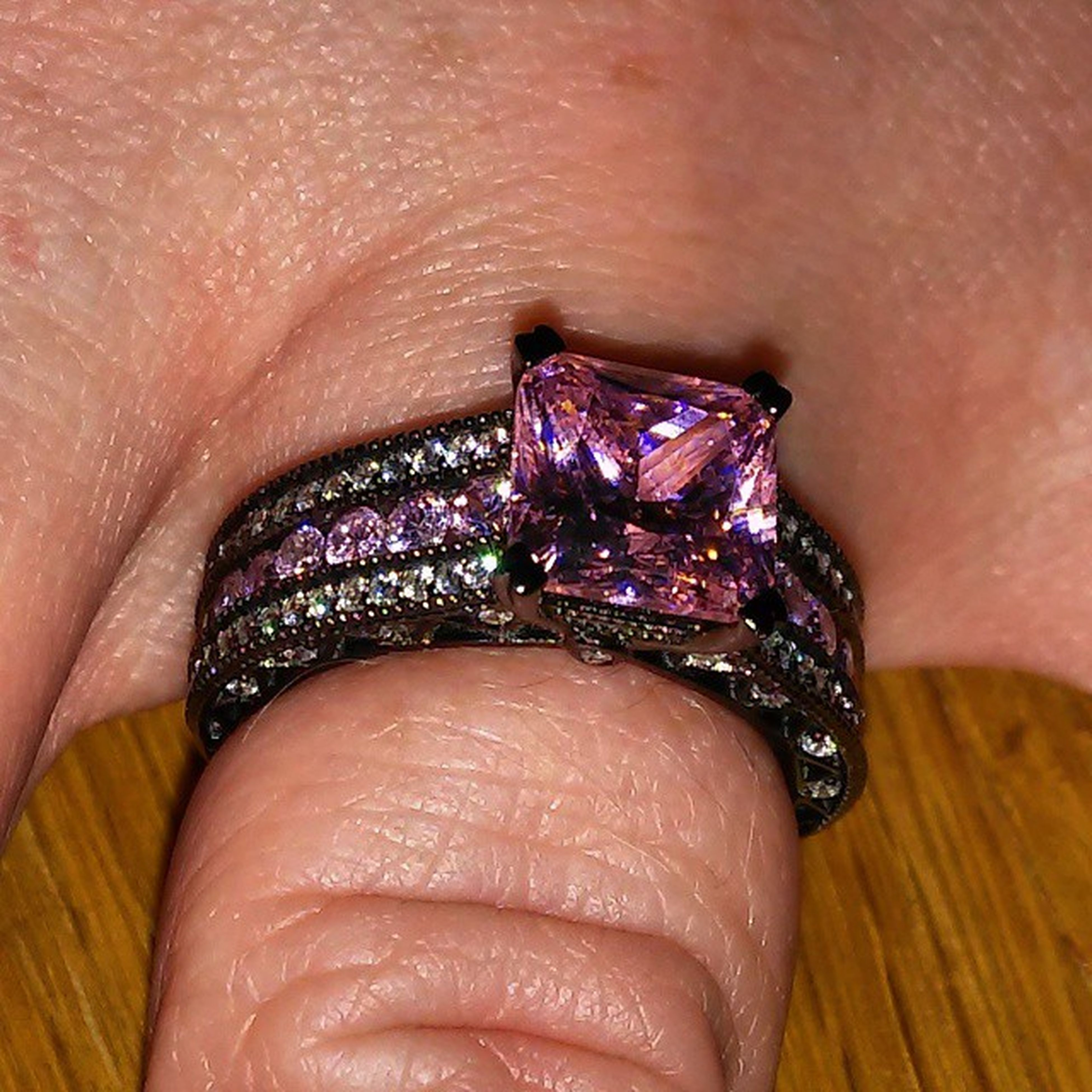 @cristykaos with her Ring on display... Iloveyou so very much.! You and i know what this means to us and thats all that matters.. Naturalbornkillers MickeyAndMallory2015 StarboyAndKaos StarboyStyle YourePerfectlyImperfect....I love you BabyGurl ! CalmingKaos Stardust Starboy CauseImAStar