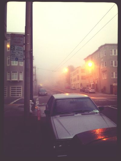 San Francisco A Gloomy Morning