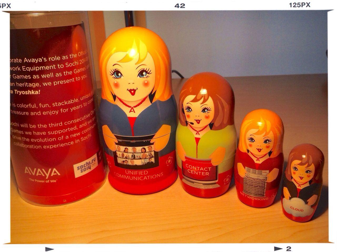 Avaya Sochi 2014 Сочи (Sochi) Matryoshka Doll