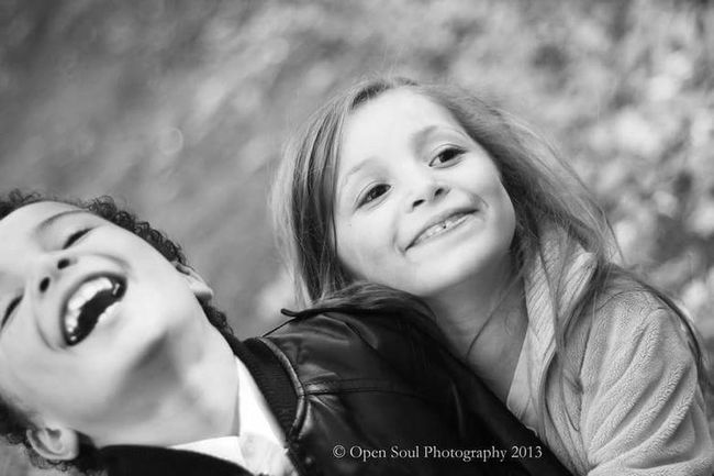 Kids Portrait Kidsphotography Brother & Sister Laughing Out Loud Blackandwhite Monochrome Family Children Outdoors Love Special Moment Peopleofeyeem People Photography Close-up YYC Calgary, Alberta