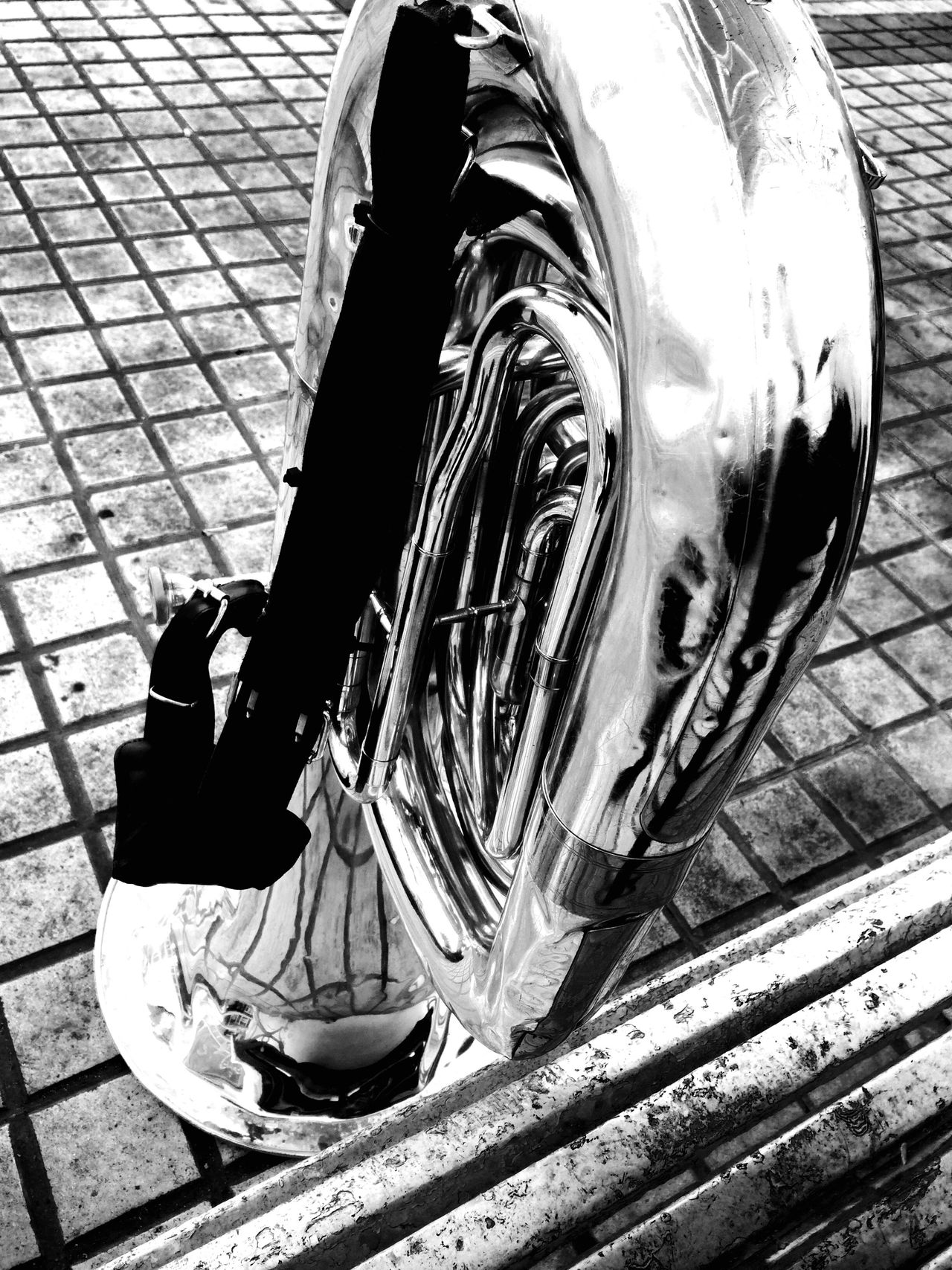 Instruments Metallic Blackandwhite Black & White Black And White Photography Beautiful Instrument Tuba EyeEmNewHere