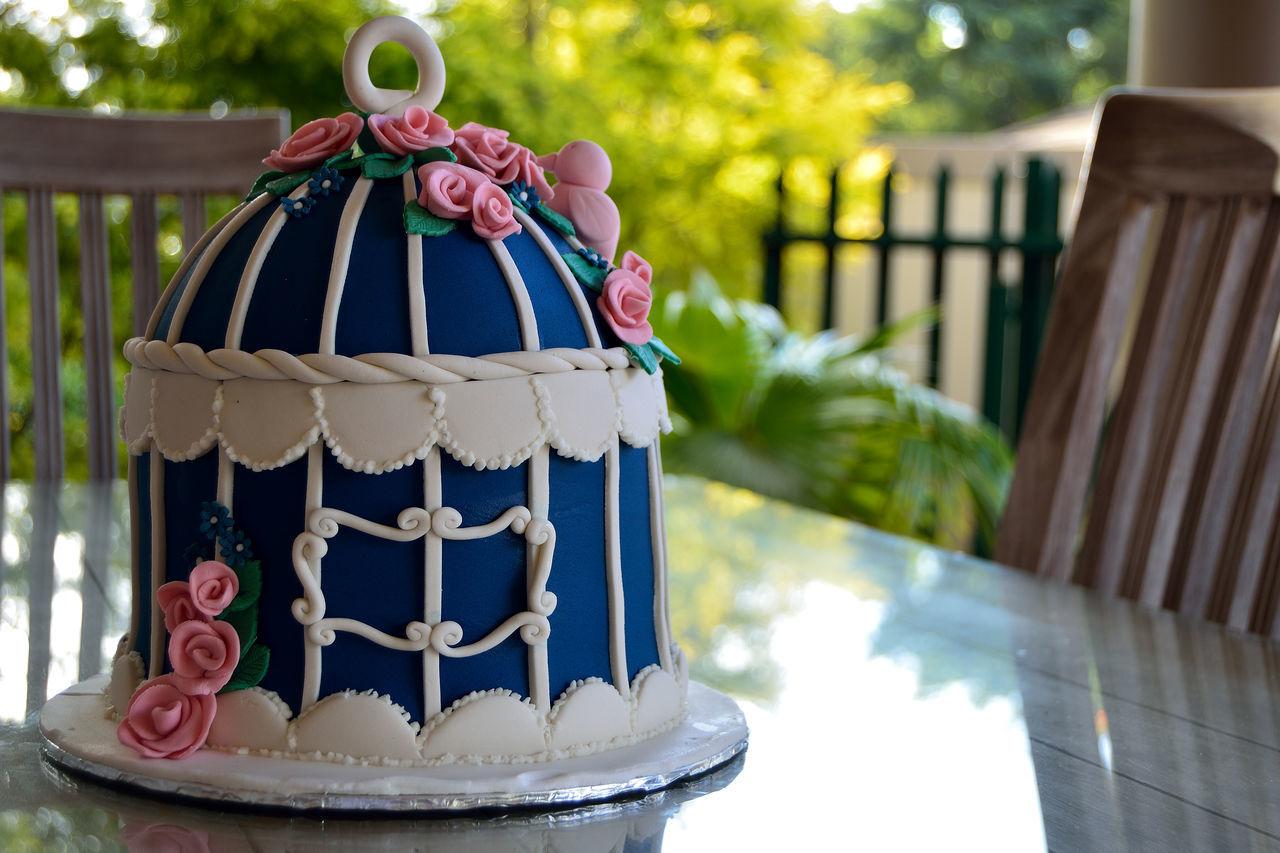 Beautiful stock photos of wedding cake, Blue, Cake, Celebration, Close-Up