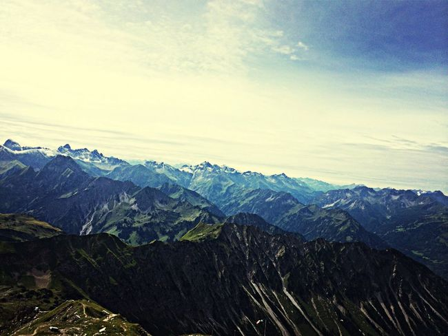 Watching the world from the top of a Mountain in The Alps EyeEm Nature Lover Nature_collection