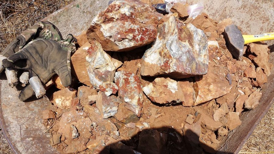 Gold Ore Pulled - Ready To Crush Gold Ore Hardrock Hard Rock Vein Rock Vein Rock Prospecting Art Is Everywhere The Oakstrails The Oakstrails Photos Oakstrails Photos Capture The Moment Working Hard Work Ore Tools Tools Of The Trade Mining Gold Gold Mining Gold Ore Gloves Hammer Gloves Work Gloves Ruined
