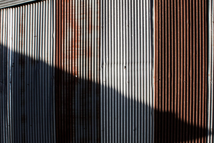 Backgrounds Close-up Corrugated Iron Day Full Frame Galvanized Vertical Indoors  Metal No People Old Pattern Textured
