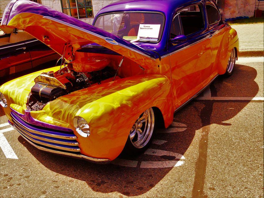 43 Golden Moments Car Cruise Car Show Custom Cars Custom Paint Custom Paint Job Feel The Journey Hello World Hot Rod Hot Rod Classic Hot Rods Pure Michigan St. Ignace Car Show 2016 Mein Automoment