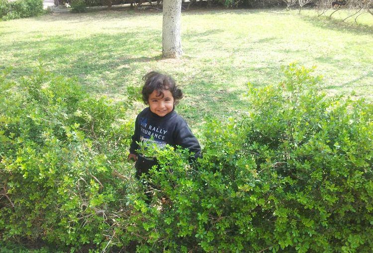Hello World Smile Of Life Childhood Pure Feeling Ber Sheva