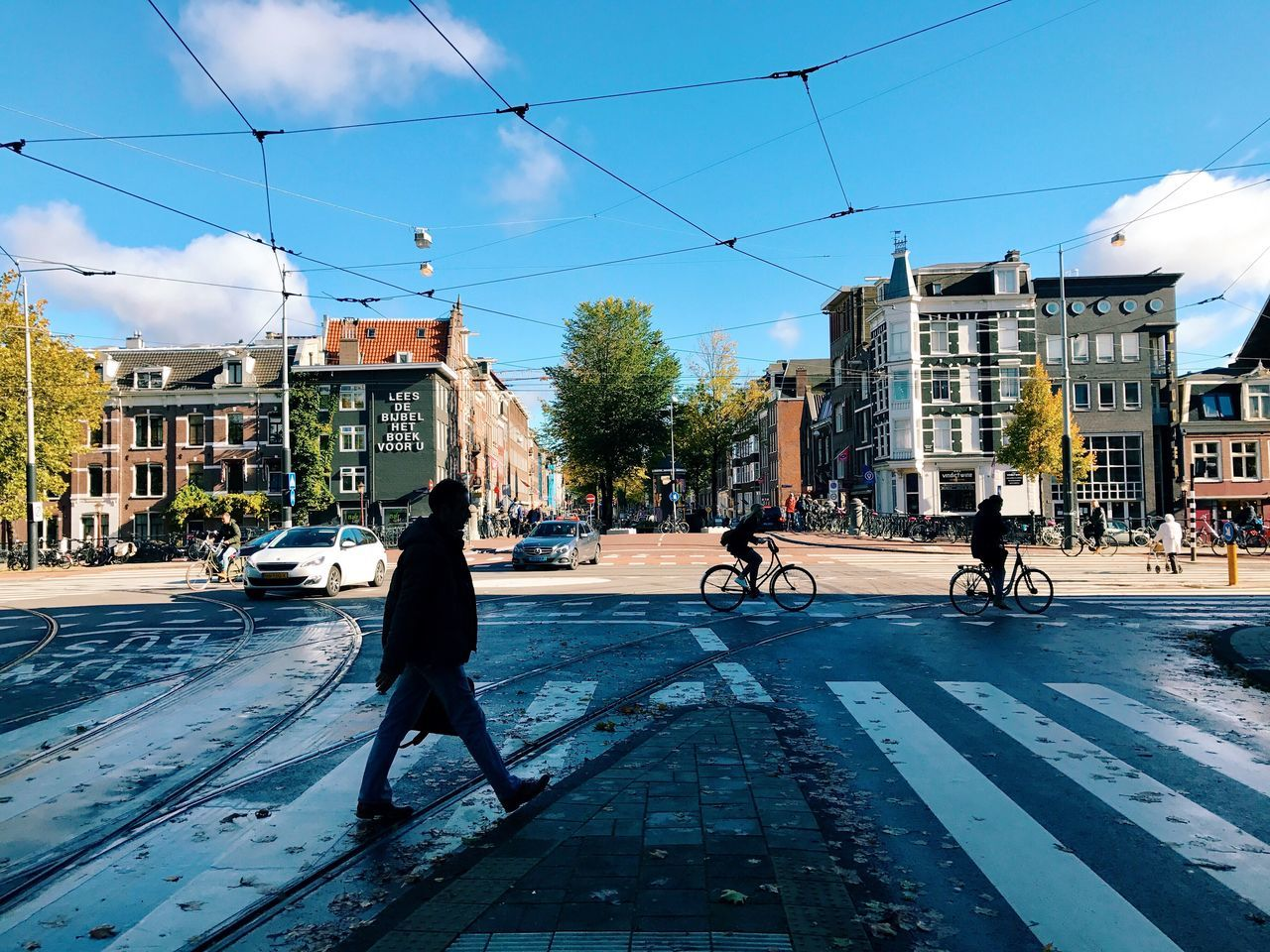 Street Sky Day City Life City Amsterdam Amsterdamcity Jordaan Student First Eyeem Photo