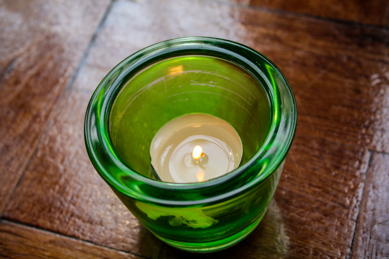 Coffeeshop Candlelight. Drink High Angle View Drinking Glass Freshness No People Healthy Eating Food And Drink Indoors  Close-up Table Water Ready-to-eat Day Photography EyeEmNewHere Indoors  Candle Light