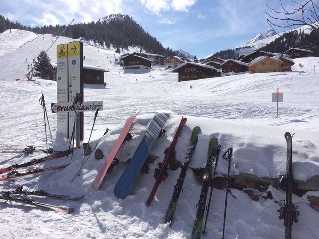 Austria Silvretta Montafon Skiing Snow ❄ Mountains Mountain View